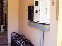 Magnum Power Inverter and Batteries for Off Grid System in Lincoln, MT