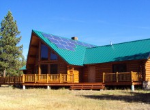 Off Grid Solar System in Lincoln, MT
