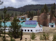 Off Grid Solar System near Marion, MT