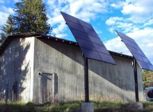 Top of Pole Solar Arrays in Bonners Ferry, ID